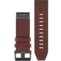 BROWN LEATHER BAND garmin-skordilis