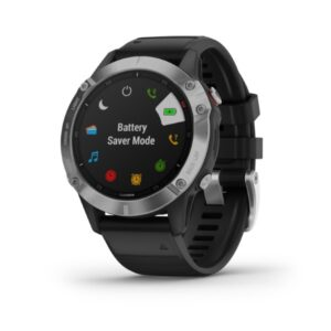 Garmin-fenix-6-silver-with-black-band-skordilis