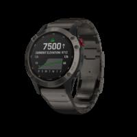 ρολόι Garmin αθλητικό - Carbon Gray DLC with DLC Titanium Band