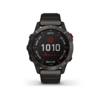 ρολόι Garmin αθλητικό - Carbon Gray DLC with DLC Titanium Band