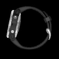 ρολόι Garmin αθλητικό -Silver with Black Band